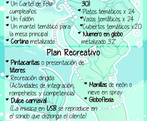 Plan Turquesa