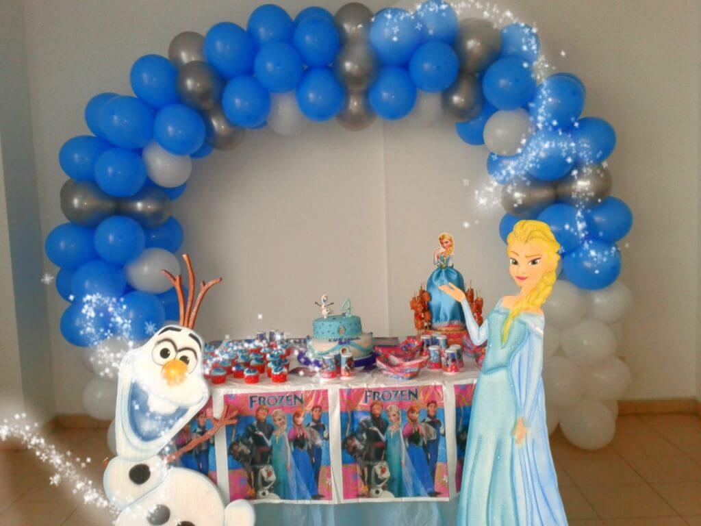 Decoraci n frozen fiesta infantil lollipop recreaci n - Decoracion para fotos ...