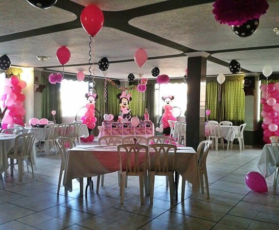 Fiesta infantil con Decoración Minnie Mouse
