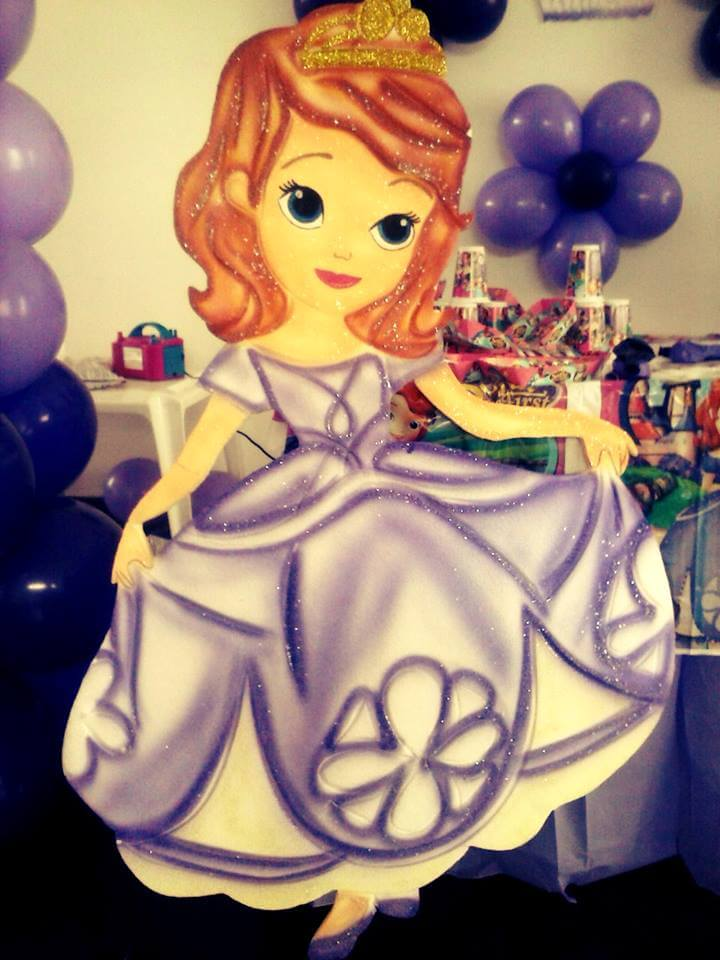 fiestas infantiles decoraci243n princesita sofia