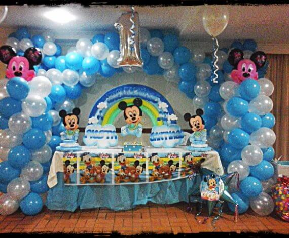 Decoración Mickey Bebe