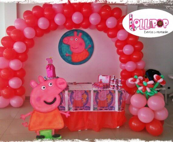 Decoración de Peppa