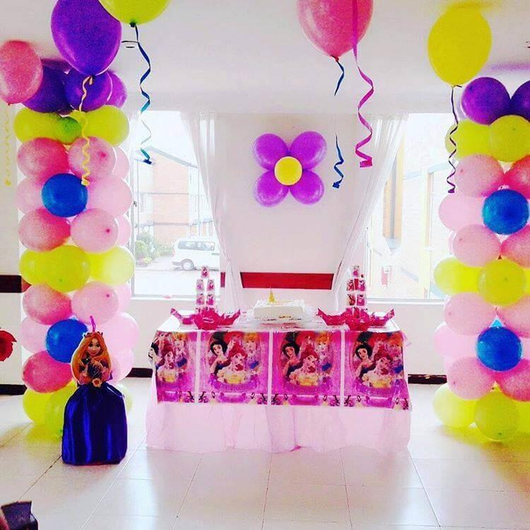 Decoraci n princesas disney lollipop recreaci n - Decoracion fiesta princesas disney ...
