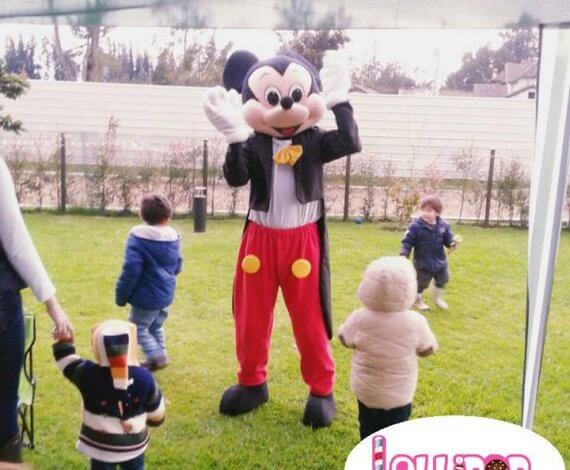 Personaje y Recreacion Mickey Mouse