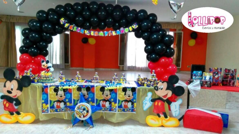 Decoracion mickey mouse lollipop recreaci n - Manteles de cumpleanos infantiles ...
