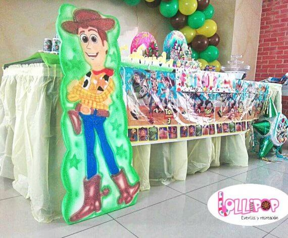 Aplique de toy story