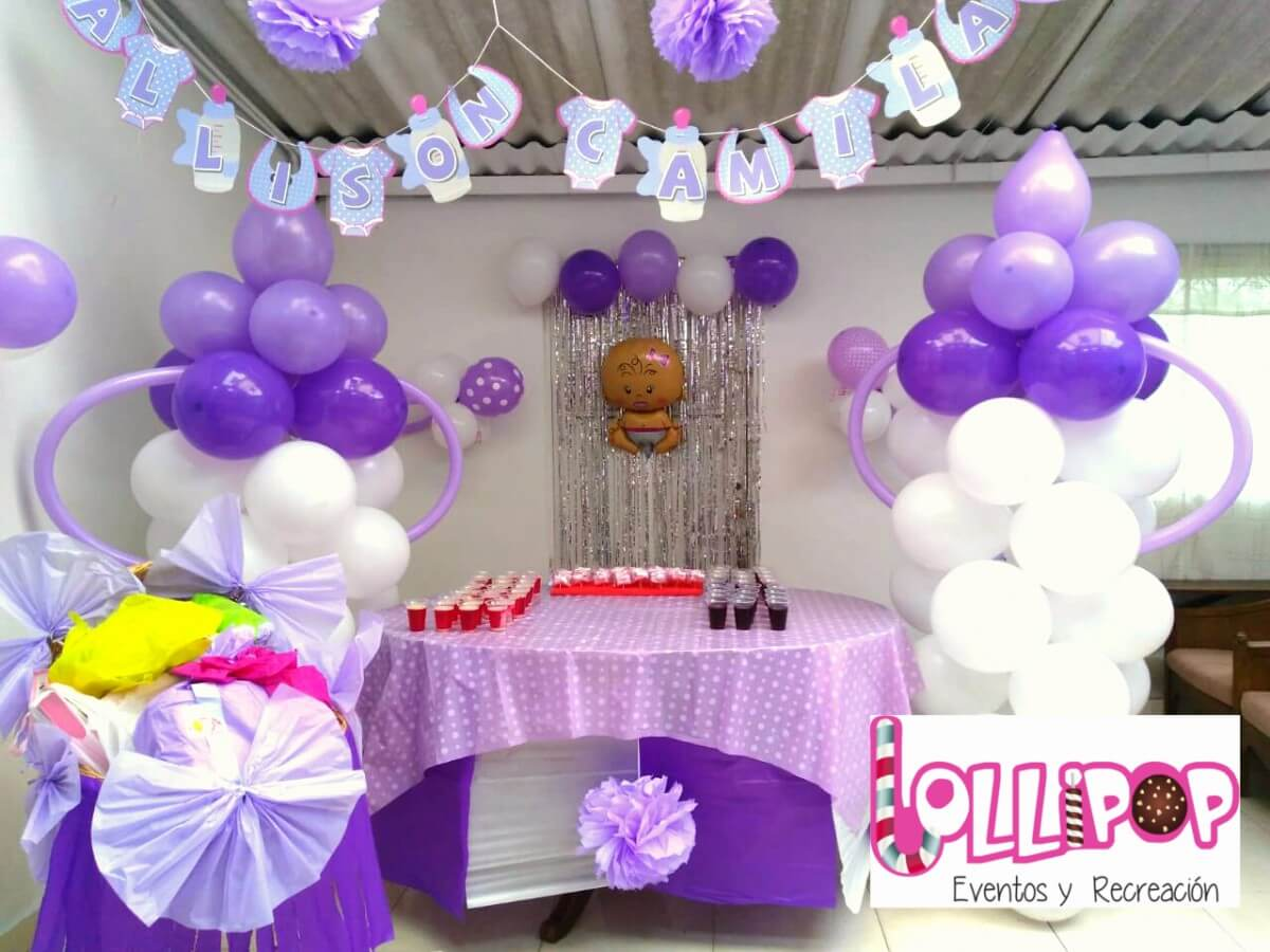 Decoracion Baby Shower Lollipop Recreacion - Decoracion-baby-shower