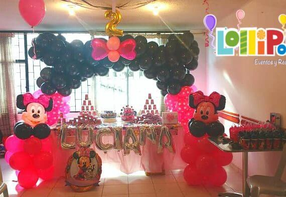 Decoración Minnie Mouse