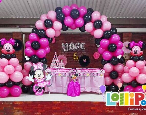 Decoración Carmesí Minnie Mouse