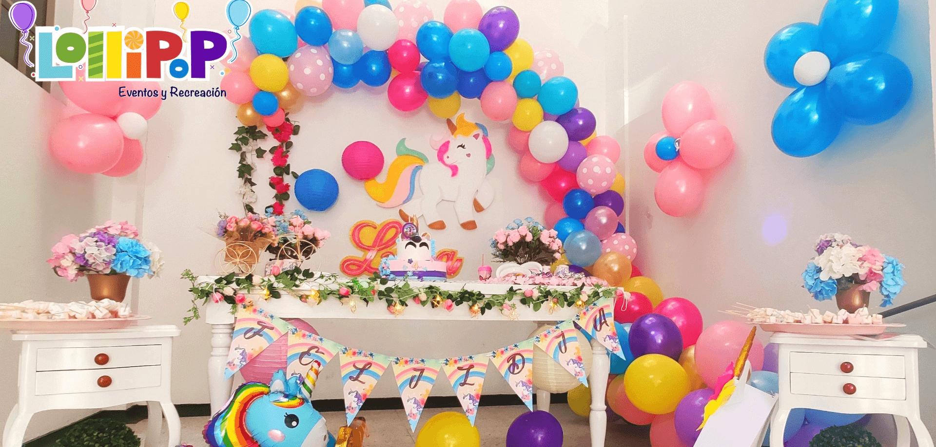 Hermosas decoraciones para tu fiesta