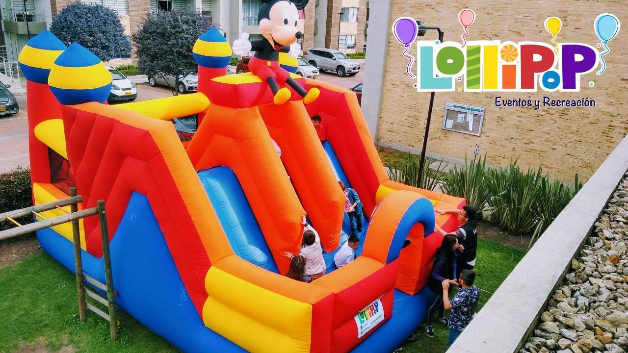 Eventos con inflable