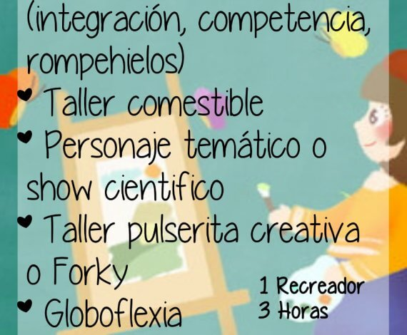 Plan Creativo – Recreación lúdica
